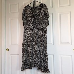 🌼Fashion Bug sheer maxi dress
